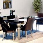 modern yemek odası zebrano mobilya yemek odası modelleri