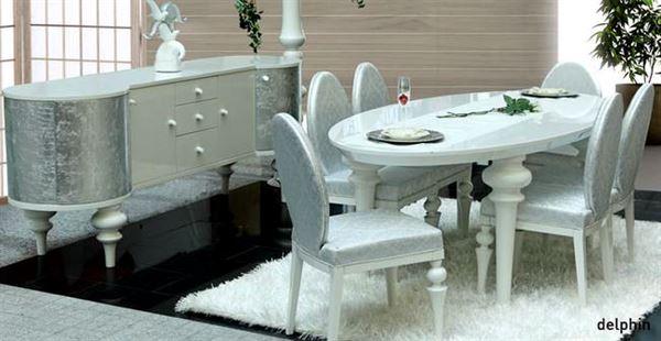 dekoratif yemek odası