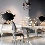modern lüks yemek odası takımları zebrano mobilya yemek odası modelleri