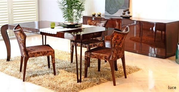 zebrano mobilya yemek odası fiyatları