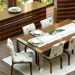 ceviz renk yemek odası zebrano mobilya yemek odası modelleri